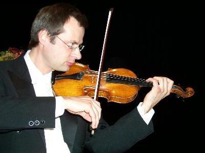 Felix Gargerle an der Geige
