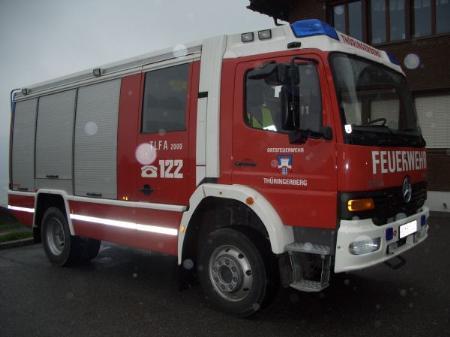 Feuerwehreinsatz am Thüringerberg