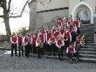 Gruppenfoto der Jugendkapelle Rankweil