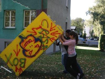 Halt der Gewalt in der VillaK.