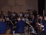Harmoniemusik Muntlix lud zu Kirchenkonzert in die Kirche St. Fidelis in Muntlix.