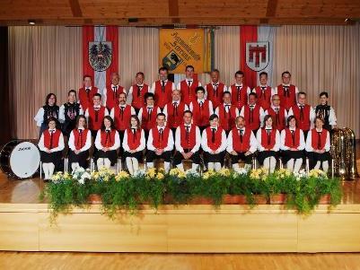 Harmoniemusik Schruns spielt in Bartholomaeberg