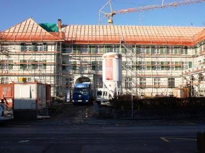 Im Schützengarten entsteht ein modernes Betreuungs- und Gesundheitszentrum.
