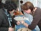 In Braz wurden tolle Geschenksartikel, Dekorationen und Basteleien verkauft.