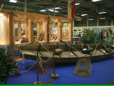 In Dornbirn findet die 1. internationale Messe für Jagd und Fischerei statt.