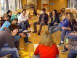 Jugendliche sprechen über ihre Anliegen