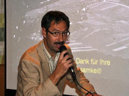 Ortsvorsteher Norbert Bertsch initiierte das Projekt Geschichte