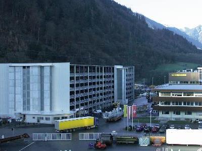 Parkhaus Liebherr eröffnet.