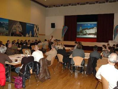 Rund 70 TeilnehmerInnen bei Auftaktveranstaltung Neues Leitbild Bludenz Innenstadt