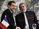 Sarkozy und Lula beim Amazonas-Anrainer-Gipfel