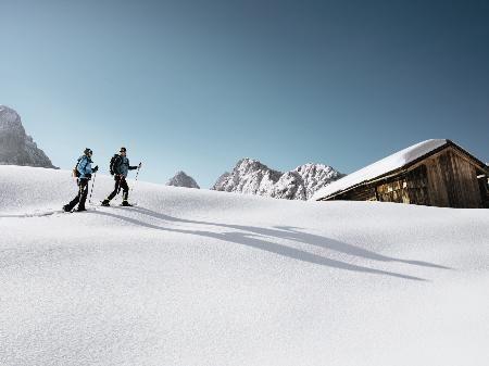 Schneeschuwanderung im Walsertal- bald ist es soweit!
