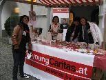 Schülerinnen der HAK Feldkirch im Dienste der guten Sache.