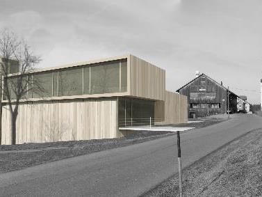 So präsentiert sich das neue Feuerwehrhaus in Sulzberg-Thal