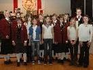 An 13 Jungmusiker wurden Jungmusikerleistungsabzeichen in Gold, Silber, Bronze und Junior vergeben.