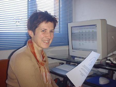 Andrea Gasser leitet Babysitterdienst