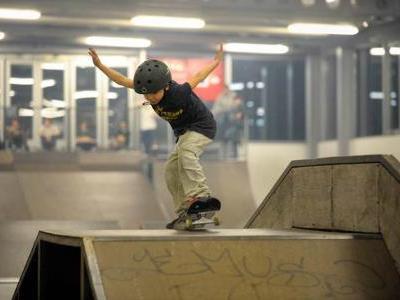 Archivbild Skaterhalle