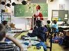 Auch in der Volksschule Rotkreuz erschien der Nikolaus in verschiedenen Klassen.