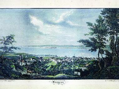 Bregenz im Jahr 1810