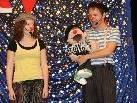 Clown Dido und Pipolina begeisterten die Kinder mit ihren Späßen und Kunststücken.