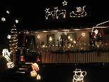 Das Haus der Familie Wieland ist eine Augenweide was weihnachtliche Beleuchtungskunst anbelangt