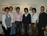 Das neue Team der Eichenberger Ortsbäuerinnen mit Obfrau Renate Gorbach.