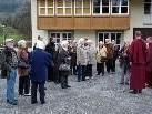 Dornbirner Seniorenbund 50 plus fährt zum Buddhistischen Zentrum Letzehof.
