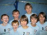 Freude bei den Volleyball-Youngsters der SHS Wolfurt.