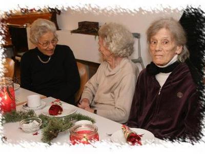 Gerne besucht wird die Adventfeier im IAP Ludesch
