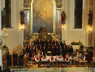 Hochaltar der Pfarrkirche in Hittisau