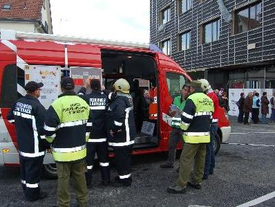 Jahresabschlussübung der Feuerwehr Lauterach
