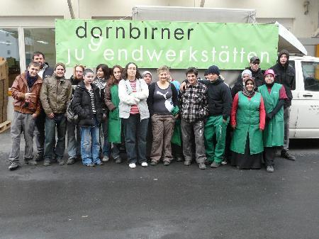 Jugendliche in den Dornbirner Jugendwerkstätten: Alle hoffen auf eine fixe Anstellung.