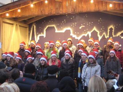 Jugendpopchor zur Weihnachtszeit