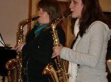 Julia Erhart und Annika Dünser