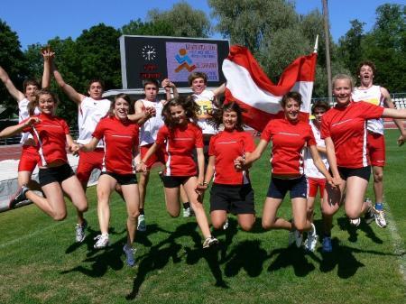 Leichtathletik Schulsport am Sportgymnasium Dornbirn.