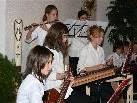Lingenauer Musikhauptschüler überzeugten bei ihrem Auftritt in Mellau.
