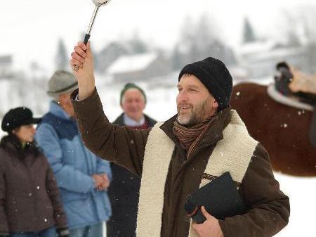 Pferdesegnung in Schwarzenberg