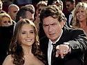 Sheen mit seiner dritten Frau Brooke Mueller
