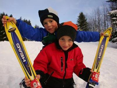 Skifahrerfreuden am Bödele