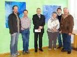 Stefan Elsensohn, Armin Bitschnau, Josef Lins, Maria Konrad, Patrick Fürnschuß und Walter Tschegg