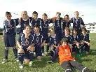 U13 Mannschaft nach einem Jugendturnier im Frühjahr 2009 im Mösle