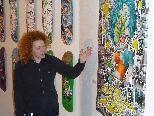 """Zahlreiche Künstler zeigen bei der """"Art on Snow"""" im Kleinwalsertal ihr Können."""
