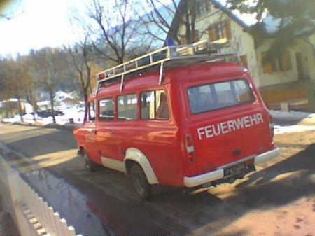 Bei der Feuerwehr Gantschier gab es eine Neuwahl vom Kommandanten.