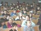 Bild: Aufmerksamkeit und Spannung herrschte bei der ersten Vorlesung der Kinderuni an der PH