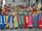 Die Brazer Sternsinger gestalteten den Dreikönigsgottesdienst