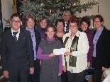 Die Familie Kepp mit Vizebürgermeisterin Annemarie Bernhard.
