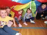 Die Kinder freuen sich auf die Fortsetzung der Ball-Spielgruppe ab 19. Februar.