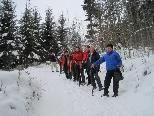 Die aktive Wandergruppe des Kneippvereins Götzis mit Wanderführer Alfons Loacker.
