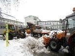 Ein Lob dem Team des Lochauer Wirtschaftshofes für die vorbildliche Schneeräumung.