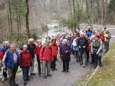 Ein tolles Programm für Wanderfreunde bietet der Seniorenclub Bludenz