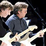 Eric Clapton und Steve Winwood  zusammen auf Tour